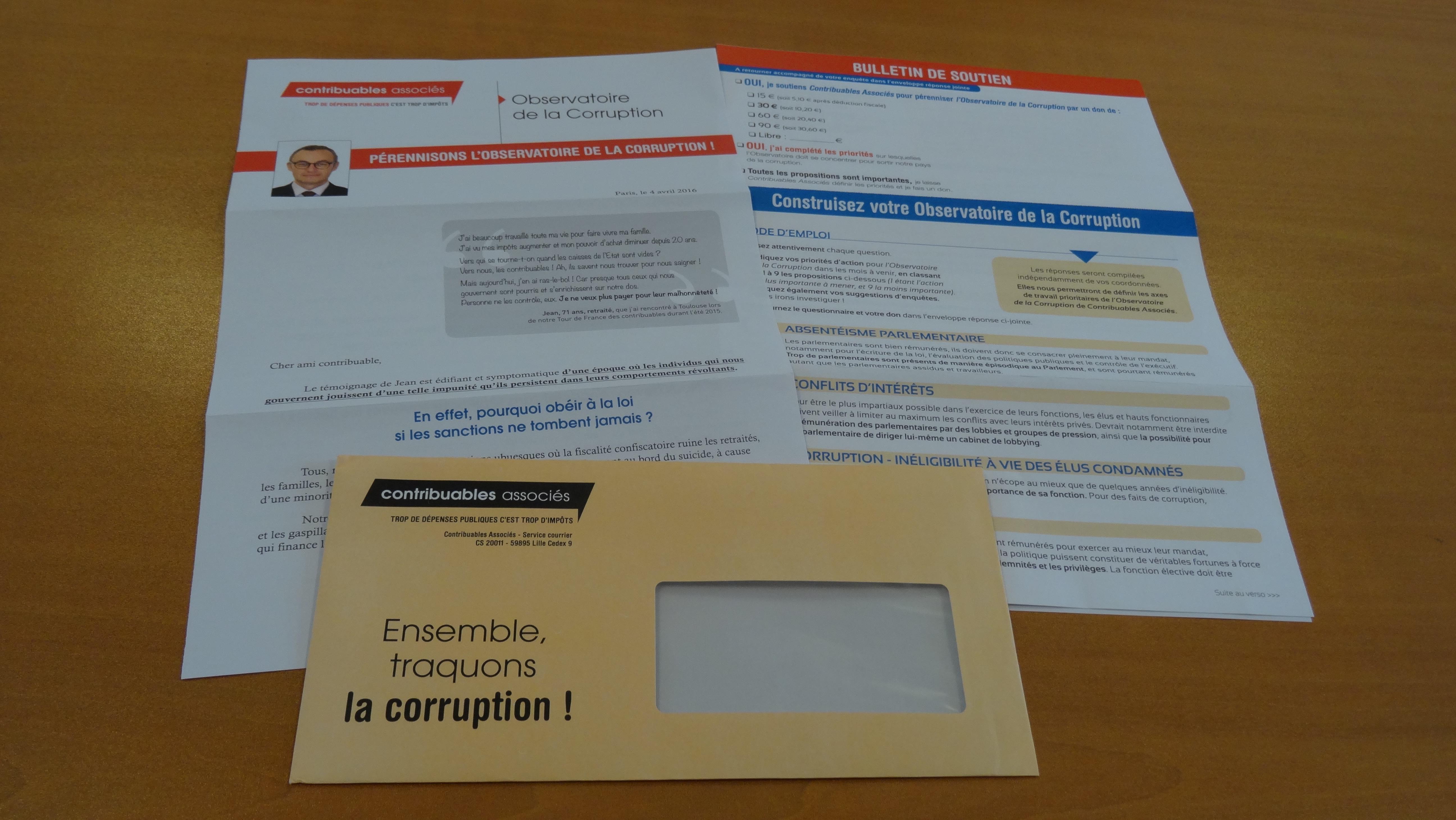 [À Venir] : Enquête Sur Les Thèmes Prioritaires De L'Observatoire De La Corruption