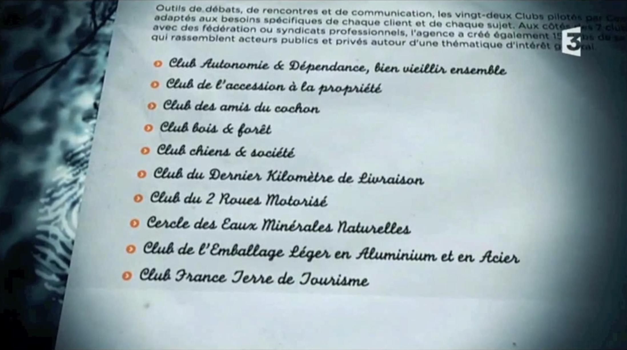 Clubs Parlementaires «Très Chers Députés», In «Pièces À Conviction» (France 3) 9 Septembre 2015