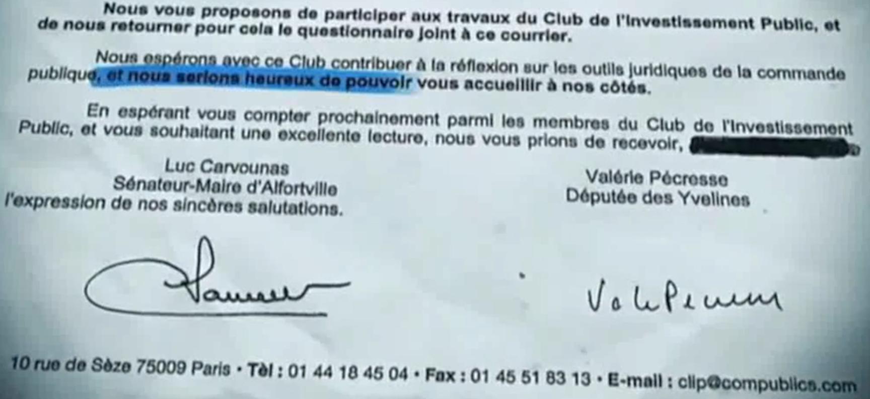 Valérie Pécresse Club investissement public Clip 2