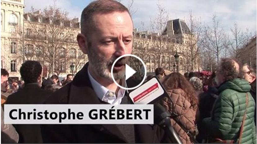 « Nous Voulons De La Transparence ! » (Christophe Grébert)