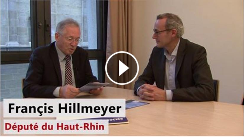 Francis Hillmeyer, Député : « Il Faut Un Casier Judiciaire Vierge Pour Les élus ! »