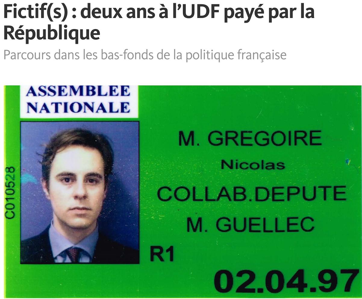 Nicolas Gregaoire Udf