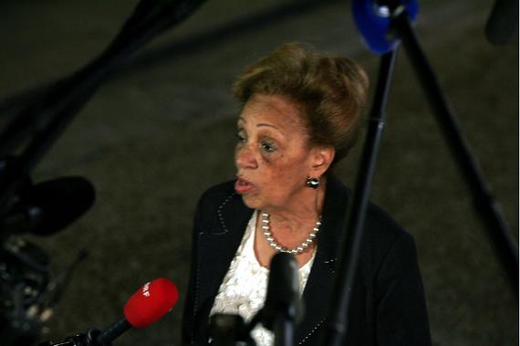Lucette Michaux-Chevry, L'ancienne Présidente De La Région Guadeloupe Aurait Mis Beaucoup De Beurre Dans Ses épinards